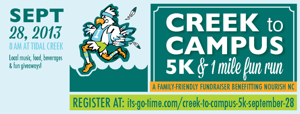 Tidal Creek Coop - Creek to Campus 5K