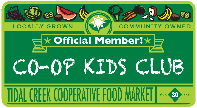 Tidal Creek Coop Kids Club